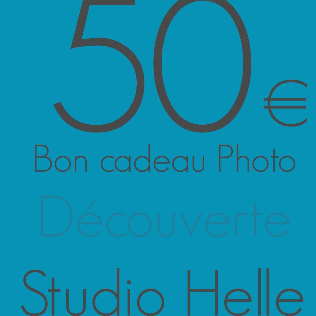 Bon cadeau photo 50€ découverte - bons cadeaux