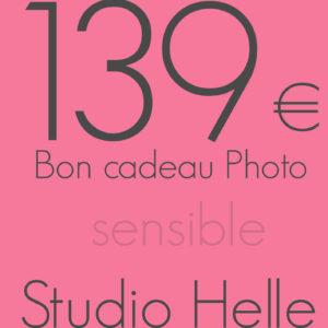 Bon cadeau 139 euros